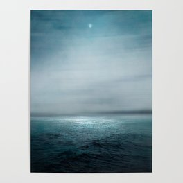 Sea Under Moonlight Poster