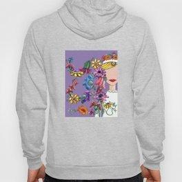 I Love the Flower Girl Lavender Hoody