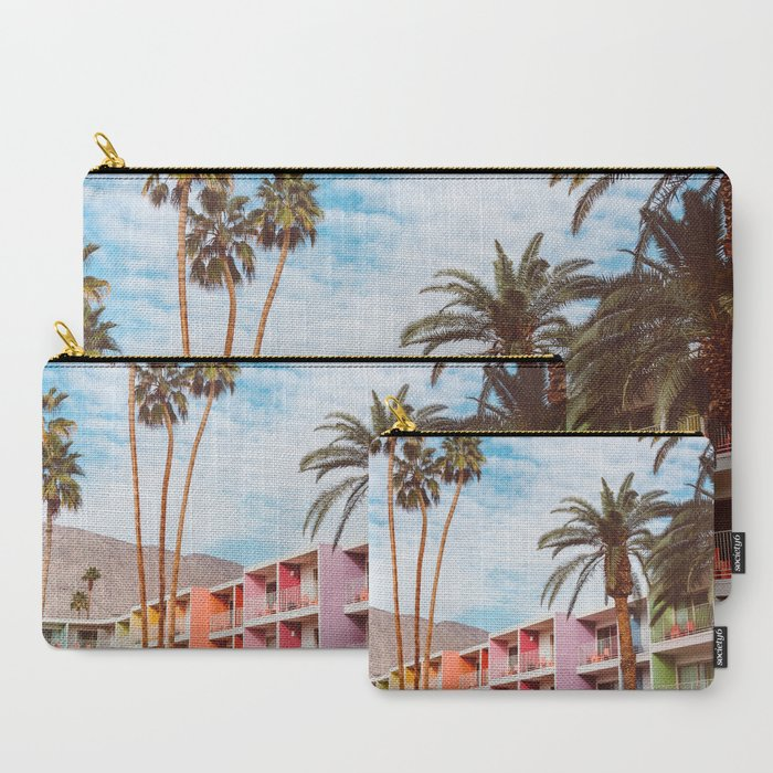 Palm_Springs_Pool_Day_VII_CarryAll_Pouch_by_Bethany_Young_Photography__Set_of_3