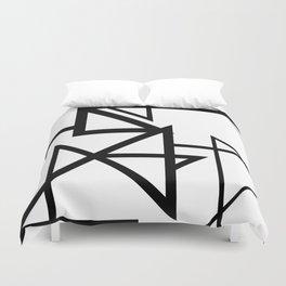 Black & White Minimal Design Nr. 2 Duvet Cover