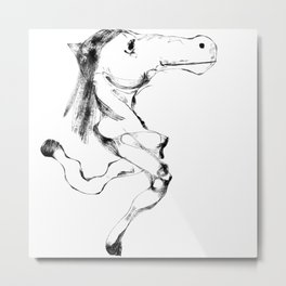 Slumokra the two legged Horse Metal Print