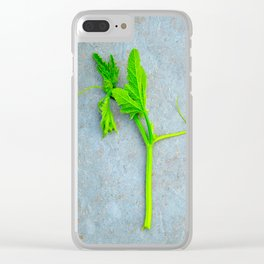 Cantaloupe Plant Clear iPhone Case