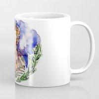 the hobbit Mugs featuring Hobbit by Kris-Tea Books
