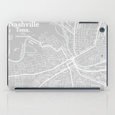 Vintage Nashville Gray iPad Case