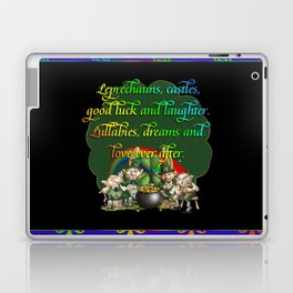 Leprecaun Party Laptop & iPad Skin