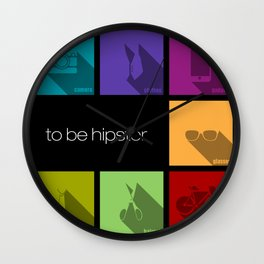 creative hipster accessories Wall Clock