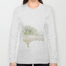 Where the sea sings to the trees - 12 Long Sleeve T-shirt