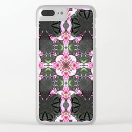 "PATTERN ""LILY STARGAZER""  2 Clear iPhone Case"