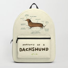Anatomy of a Dachshund Backpack