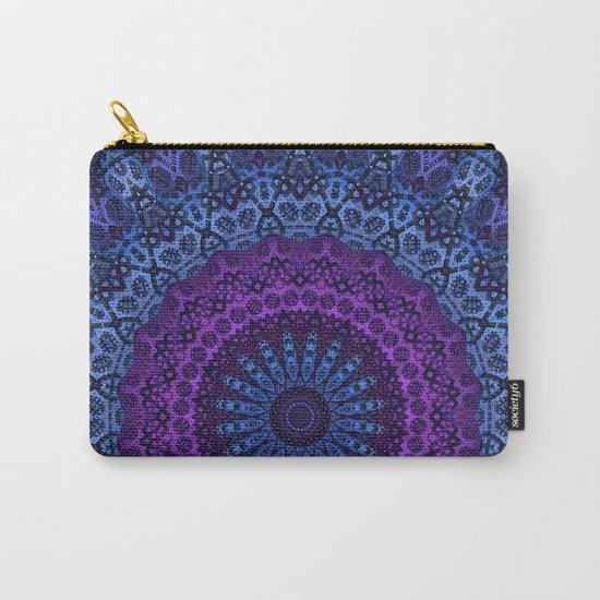 Twilight Mandala Carry-All Pouch