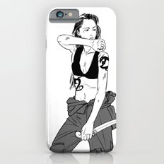 Kick Ass Lady Slim Case iPhone 6s
