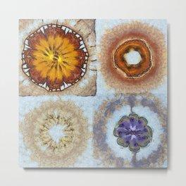 Prelawfully Roughness Flowers  ID:16165-050826-93210 Metal Print