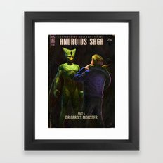 Androids Saga - Dr Gero's Monster Framed Art Print
