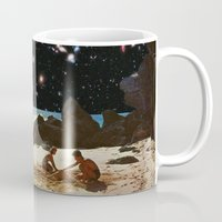 always sunny Mugs featuring it's always sunny in space by Blaž Rojs