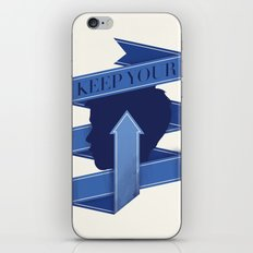 Keep Your Head Up. iPhone & iPod Skin