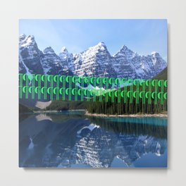 Mountainside Metal Print