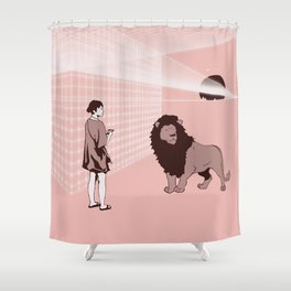 Somnambulism Shower Curtain