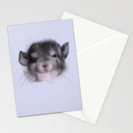 Chinchilla closeup Stationery Cards