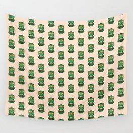 Chibi Michelangelo Ninja Turtle Wall Tapestry