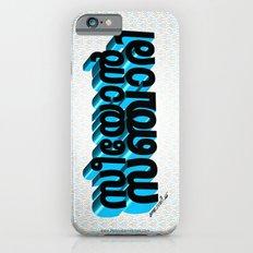 Seeyon Sanjari (Zion Traveler) - (3D - Black & Blue) iPhone 6s Slim Case