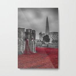 Blood Swept Lands 3  Metal Print