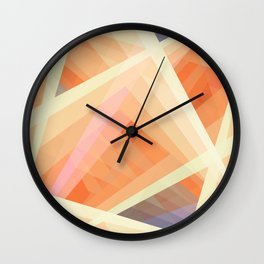 Abstract Geometric Shape 06 Wall Clock