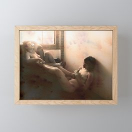 """The day after felt so right"" Framed Mini Art Print"