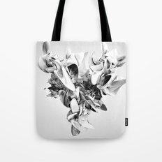 Twist Of Heart - White Tote Bag