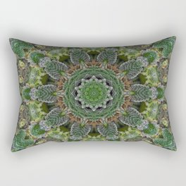 Green Queen Rectangular Pillow
