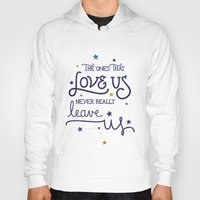 snape Hoodies featuring Never leave us by Earthlightened