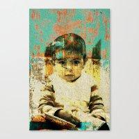 boy Canvas Prints featuring Boy by Lia Bernini