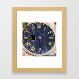 Time On My Hands Framed Art Print