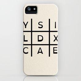 Dyslexia iPhone Case