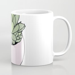 Suculent in flowerpot Coffee Mug