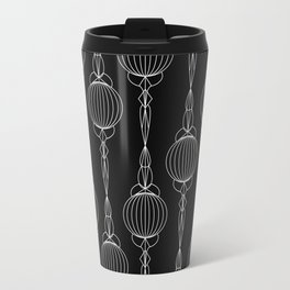 Art Deco 52 . Christmas decorations . Travel Mug
