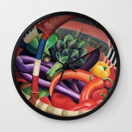 Farmers' Market Wall Clock