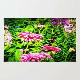 Bright Flowers Rug