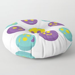 give smiles Floor Pillow