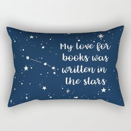 ARIES: Written in the Stars Rectangular Pillow