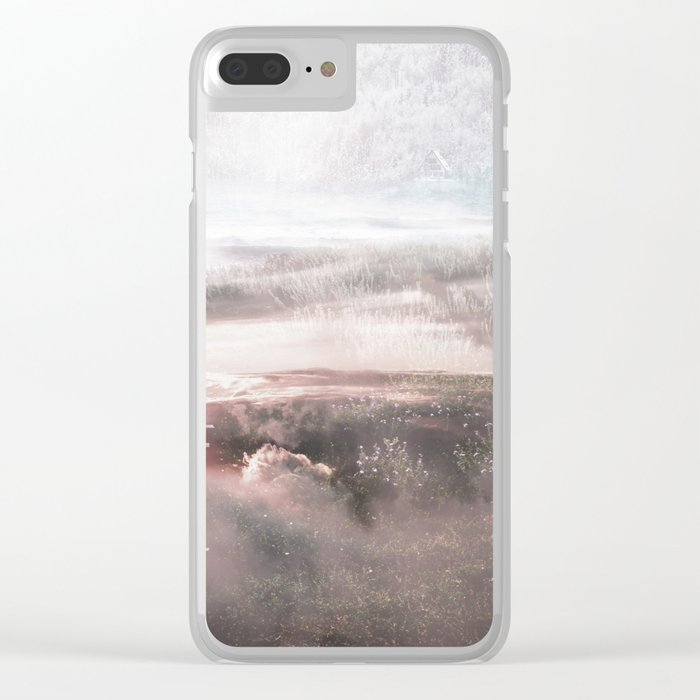 Dream Walk Clear iPhone Case