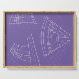 architectural drawings Serving Tray