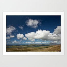 Clouds over Kerry | Ireland Art Print