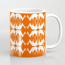 Oh, deer! in pumpkin orange Coffee Mug
