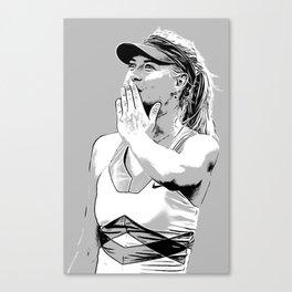 Sharapova Kiss Canvas Print