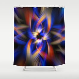 Abstract Fractal Background 5 Shower Curtain