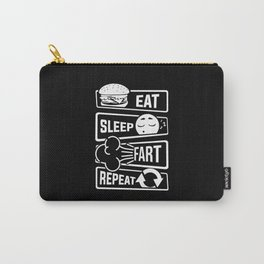 Eat Sleep Fart Repeat | Farting Flatulence Smell Carry-All Pouch