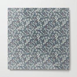 Winter Leaves 12B Metal Print