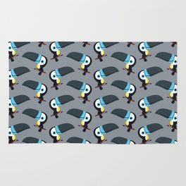 Cute channel billed toucans Rug