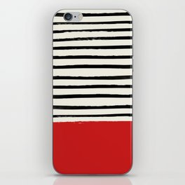 Red Chili x Stripes iPhone Skin