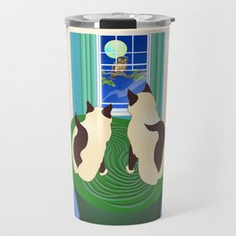 The Owl and The Pussycats 2 Travel Mug